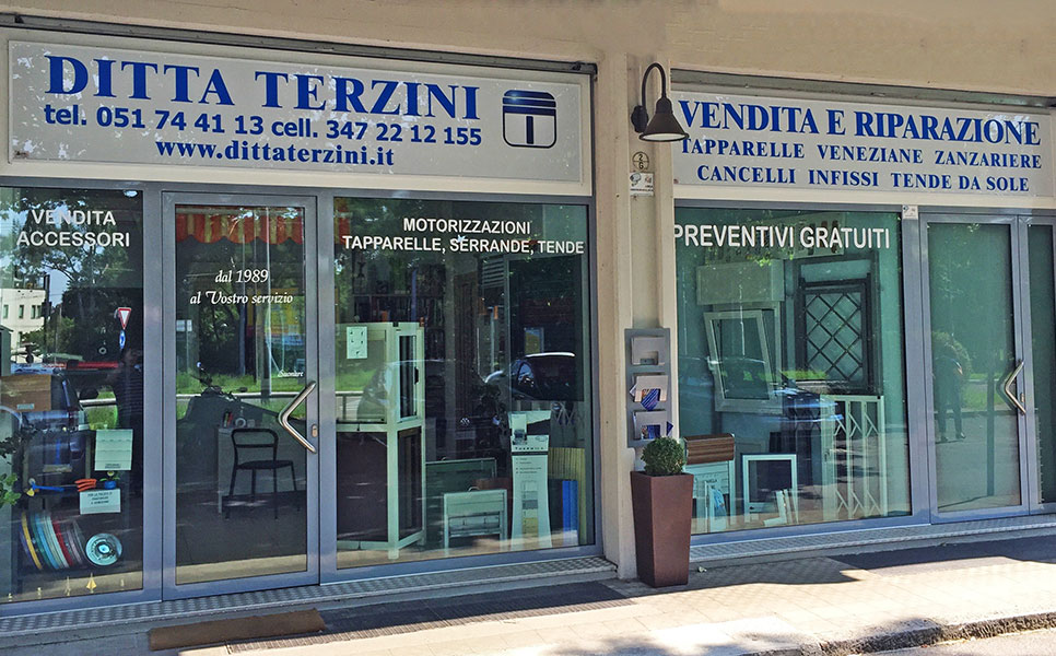 Ditta terzini bologna tapparelle motori veneziane for Tapparelle leroy merlin